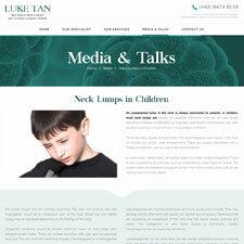 Neck Lumps in Children Article