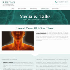 Unusual Causes of a Sore Throat Article from Luke Tan ENT Thyroid Surgery Clinic